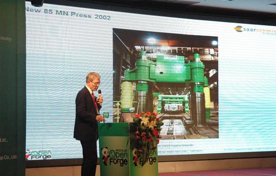 Saarschmiede GmbH Freiformschmiede- Dr. Dieter Bokelmann